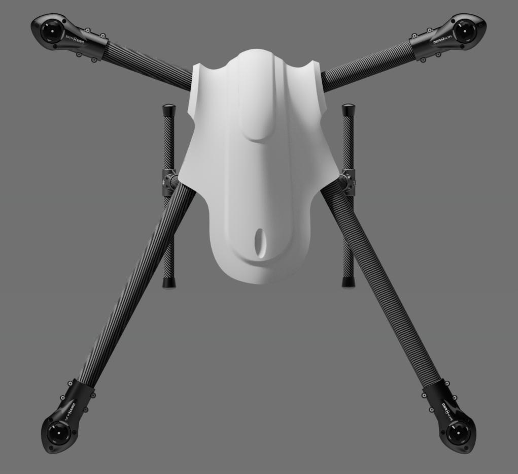 Sky Hero Spyder 850mm Multirotor X4 Or X8 Arducopter Wiring Diagram Click To Enlarge