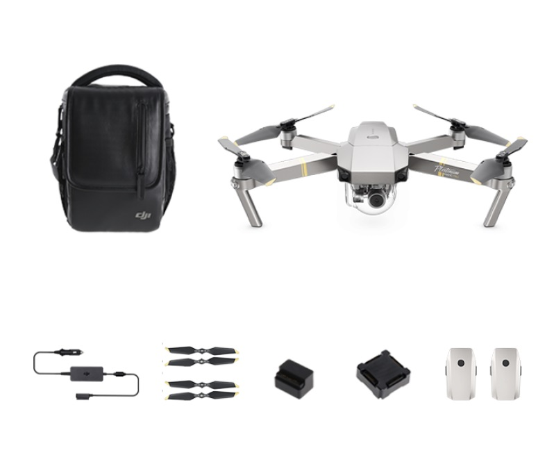 <b> DJI Mavic Pro PLATINUM </b> Pack Vuela Mas. Disponible!!!