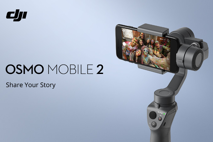 <b> Osmo Mobile 2 </b> In Stock!!!