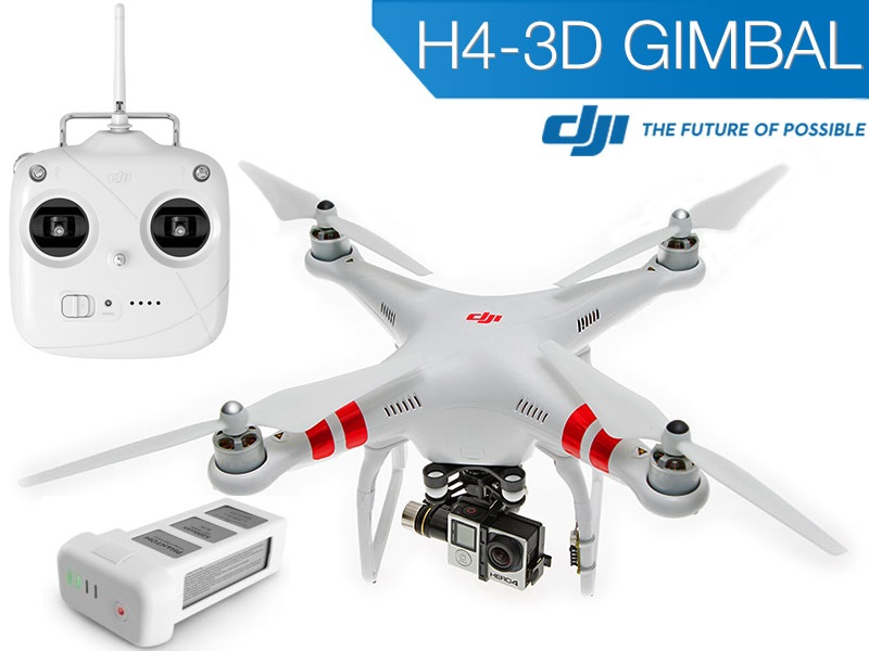<b>Phantom 2 V2 + Zenmuse H4-3D Edition</b>