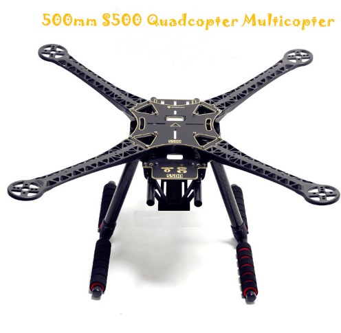 S500 Quadcopter Multicopter Frame Kit PCB Version with Carbon Fi