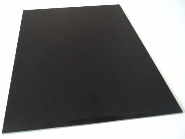 Glass fiber sheet G10 black 500x400x1 5mm G10 50*40*1